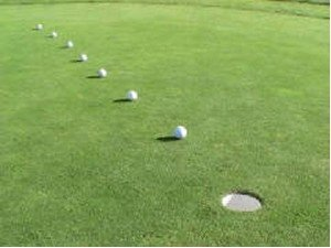 Golf Drill: Putting Distance Control